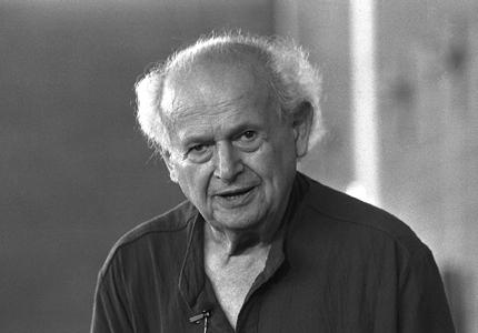 Moshè Feldenkrais, founder of The Feldenkrais Method