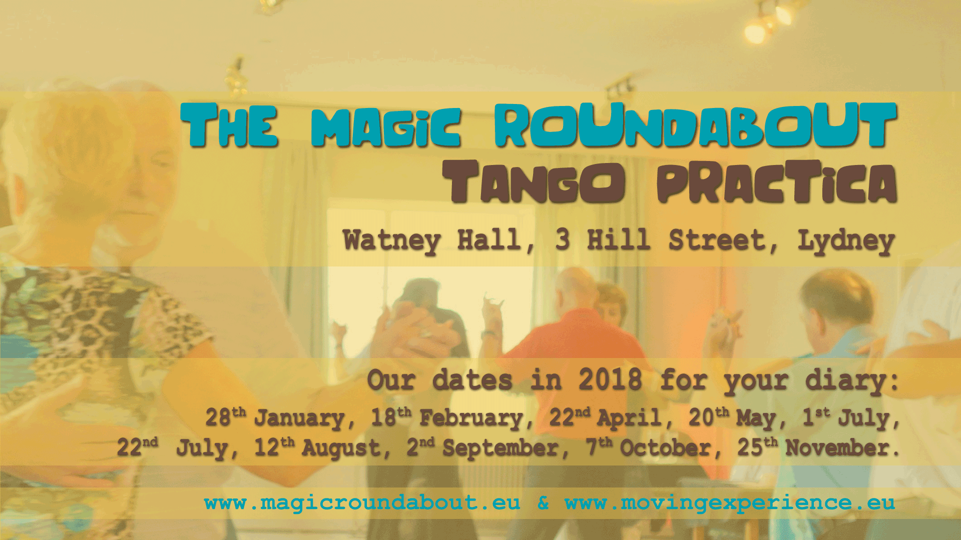 FREE Tango Practica at The Magic Roundabout Milongas