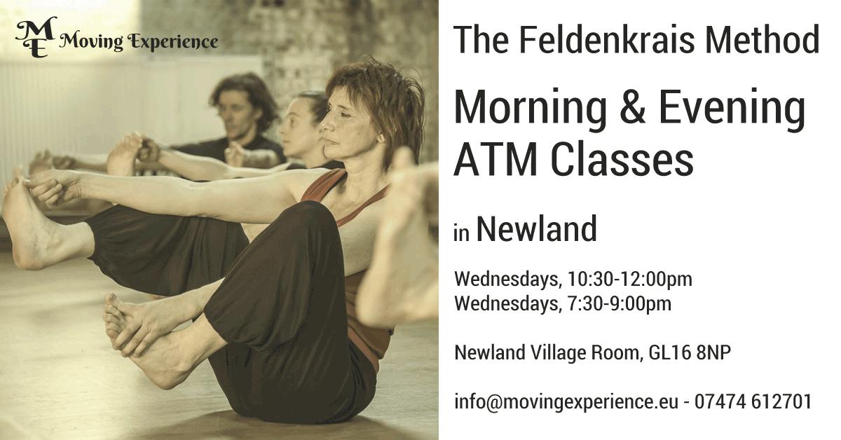 Feldenkrais ATM classes in Newland 2018