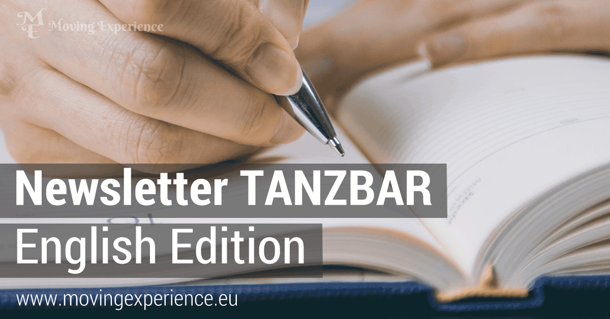Newsletter TANZBAR English Edition
