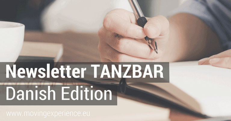 Newsletter TANZBAR Danish Edition