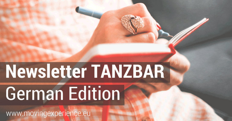 Newsletter TANZBAR German Edition