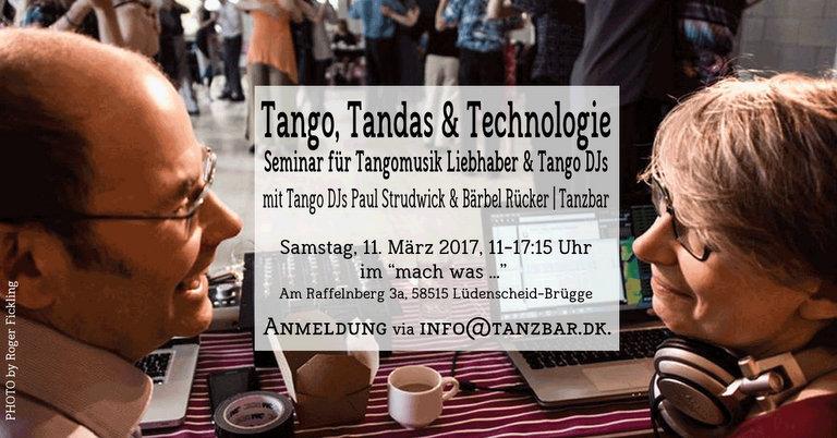 Tango DJ Seminar In Brügge