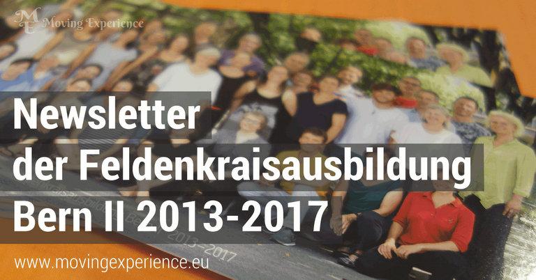 Newsletter Feldenkraisausbildung Bern II