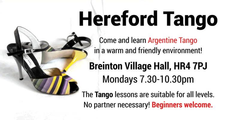 Hereford Tango – Classes 2018