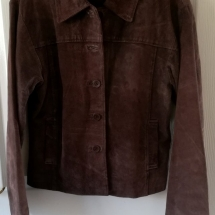 ZERO brown leather jacket