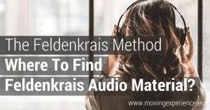 Find Feldenkrais Audio Material