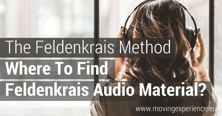 Find Feldenkrais Audio Material