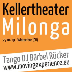 Tango DJ Bärbel @ Kellertheater Milonga