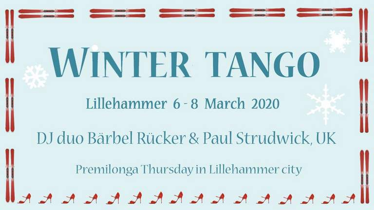 Winter Tango Lillehammer with DJ Bärbel