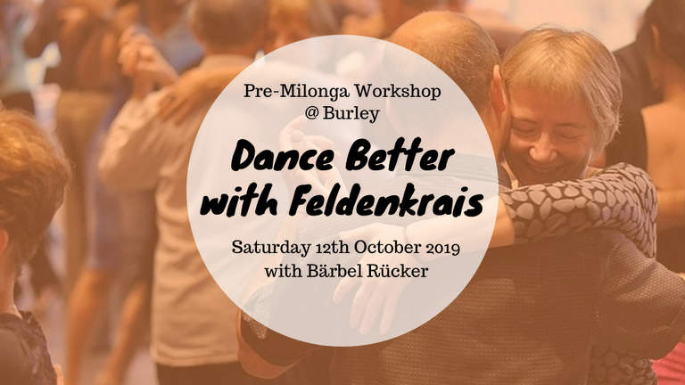 Dance Better with Feldenrkrais at Burley
