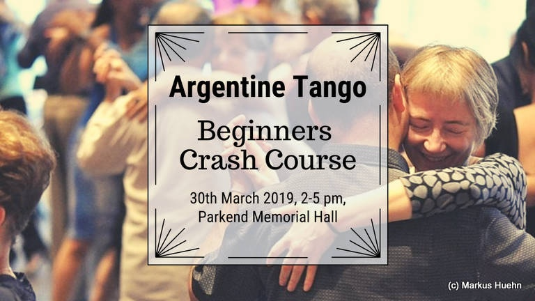 Learn Argentine Tango 30 March 2019