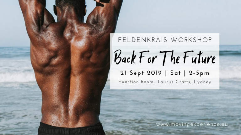 Feldenkrais Workshops at Taurus Crafts