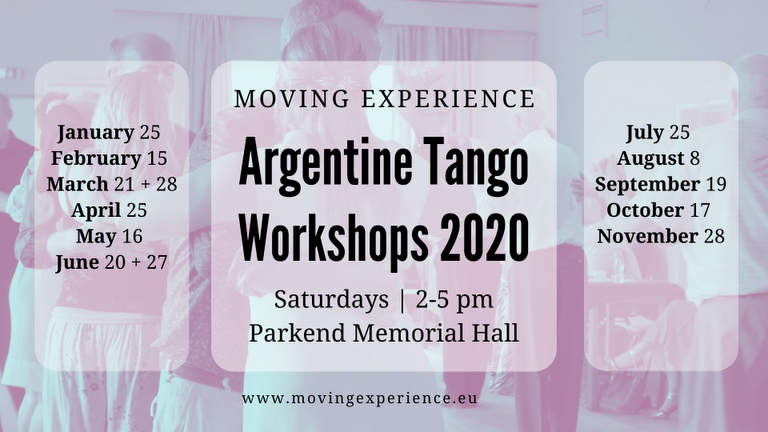 Argentine Tango Workshops in Parkend with Bärbel