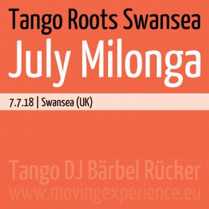 Tango Roots Swansea - July Milonga