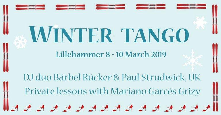 Winter Tango 2019 in Lillehammer