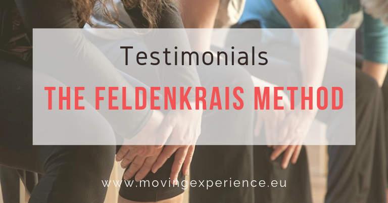 Testimonials - The Feldenkrais Method