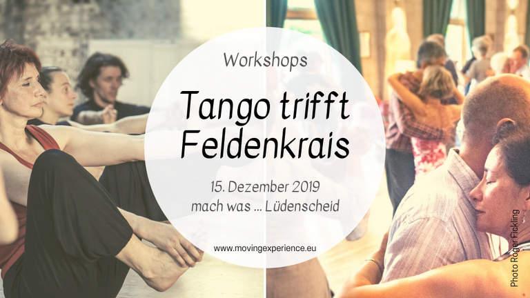 Tango trifft Feldenkrais mit Bärbel Rücker im mach was in Lüdenscheid-Brügge.