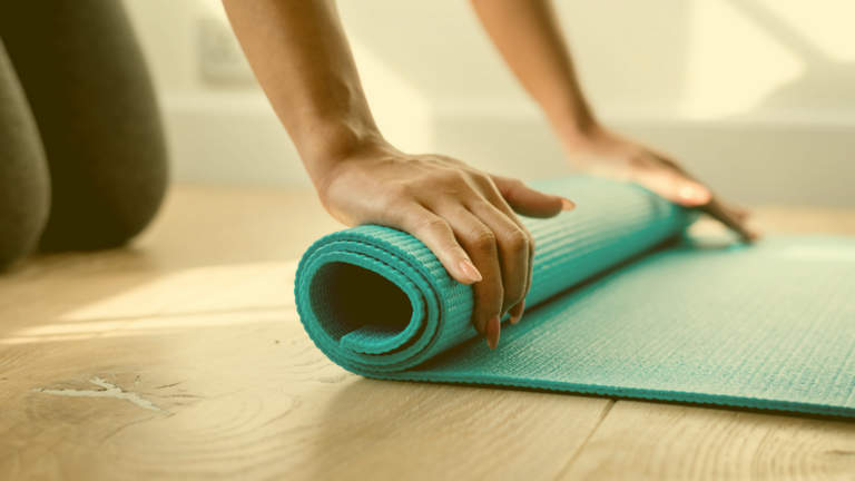 How to best get ready for online exercise classes