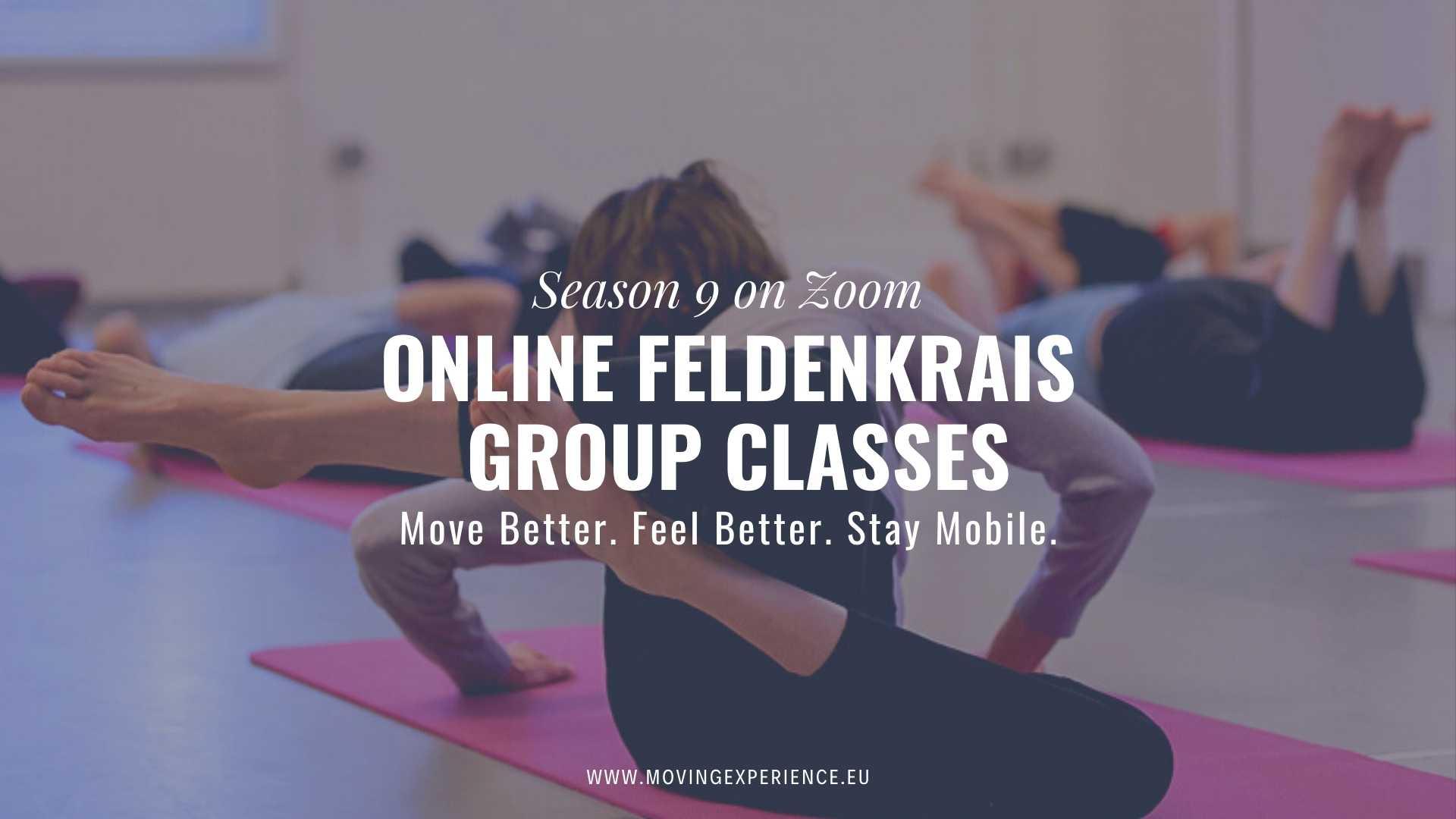 Online Feldenkrais Group Classes