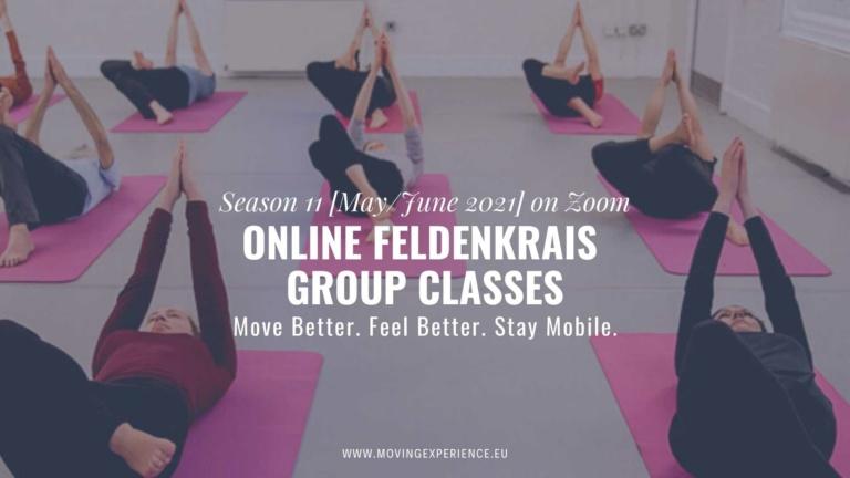 Season 11 of Online Feldenkrais Group Classes