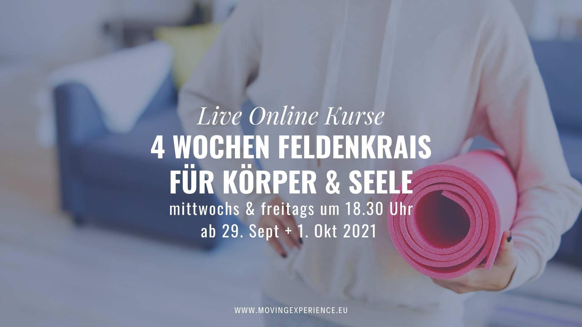 Online Feldenkrais auf deutsch